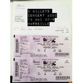 2 Places De Concert Acdc Marseille Cat�gorie 1