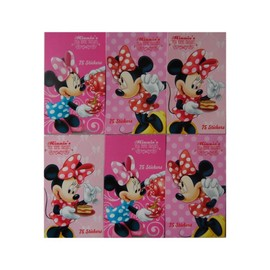 450 Stickers Minnie, 6 Mini Carnet Disney Enfant