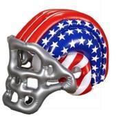 Casque De Football Americain Gonflable Taille Unique
