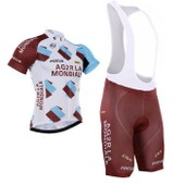 2016 Astana Maillot De Cyclisme Manches Courtes + Cuissard V�lo � Bretelles