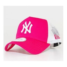 Casquette � Filet New Era Ny Yankees Clean Trucker Rose