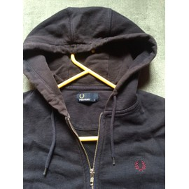 Seat Fred Perry S Blue Pull Homme Veste Capouche