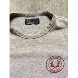 T-Shirt Fred Perry Coton S Gris Home Mode