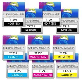 Pack G�n�rique T1295, 10 Cartouches