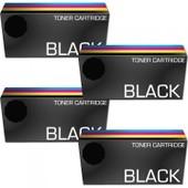 Pack De 4 Toners G�n�riques Tn2000 Noir, 4x 2500 Pages