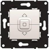 Arnould Espace �volution Interrupteur Individuel Pour Volet Roulant Avec Enjoliveur Blanc A Assembler