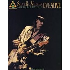 Stevie Ray Vaughan Live alive and double trouble Guitare