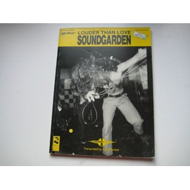 Soundgarden Louder than love Guitare