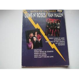 Guns n' Roses / Van halen Battle of the bands Guitare