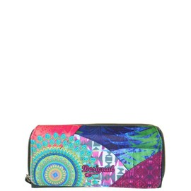 Portefeuille Desigual Reference 61y53a4 Couleur 4063 - Verde Free