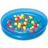 Piscine Bleue � Balles 90 Cm + 50 Balles