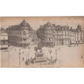 45 - Orleans - La Place Du Martroi Et La Rue De La Republique