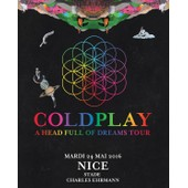 Place De Concert Coldplay - Nice - 24/05/2016
