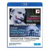 Jonas Kaufmann : Cavallera Rusticana + Pagliacci - Blu-Ray de Brian Large