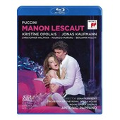 Jonas Kaufmann : Manon Lescaut - Blu-Ray de Brian Large