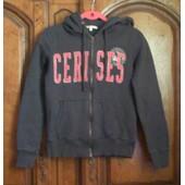 Sweat Vintage Cerises - Taille 12/14 Ans