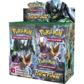 Pokemon Jcc - Xy Impact Des Destins : Boite De 36 Boosters