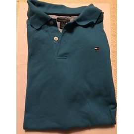 Polo Mc Tommy Hilfiger Coton Xl Bleu