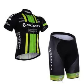 2016 Scott Maillot De Cyclisme + Collant Cuissard Homme