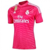 Maillot Real Madrid Exterieur Rose Fifa World Champions Pas Cher Taille L