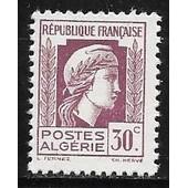 Stamps Timbre Algerie Neuf N° 199 ** Pour La Victoire