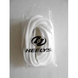 Lacet Heelys Pour Chaussures � Roulettes - Couleur Blanche
