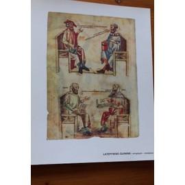 Extrait De Manfred - De Monte Imperiali - Hippocrate Tient � La Main Ses Aphorismes En Face De Galien - 2474