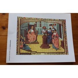 Oeuvre De Bernard De Gordon Et Guy De Chauliac - 1461 - Un Professuer En Chaire D�signe � Des �tudiants Les Maitres - Publicit� Pour Paratensiol 15 - 2477