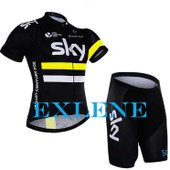 Exlene� Sky Roupa Ciclismo Cycle Maillot Chemises V�tements Cyclisme Maillot Bike Shorts Mis � S�chage Rapide