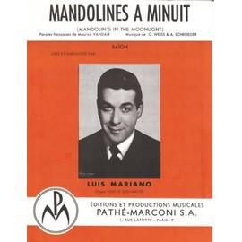 Luis Mariano Mandolines à minuit