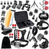Hellopopgo� 36en1 kit d'accessoires Pour Gopro Hero 1 2 3 4 Xiaomi SJCAM SJ4000 Sports Action Cam�ra