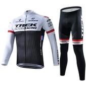 Trek Maillot De Cyclisme Manches Longues + Cuissard V�lo 2015