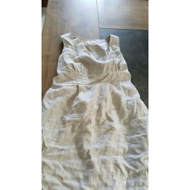 Robe Envie De Fraises Coton 42 Beige
