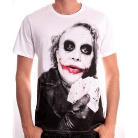 Tshirt Homme Batman - Joker Poker