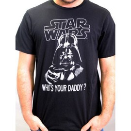 Tshirt Homme Star Wars - Who's Your Daddy
