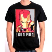 Tshirt Homme Marvel - Iron Man Obey Style