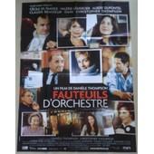 Affiche Originale Cinema Du Film Fauteuil D Orchestre Movie Poster