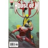 House Of M. 8 ( Of 8 ; O. Coipel, V.O. 2005 ) de Bendis