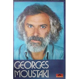 Affiche Georges Moustaki
