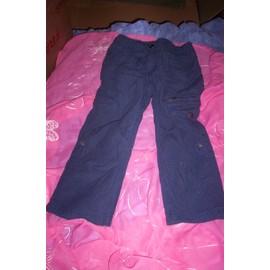 Pantalon H&m Coton 4 Ans Bleu