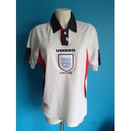 Maillot Football Vintage England 1997-1999 Taille: S +++ Tbe