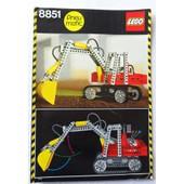 Lego Pneumatic (Pneu Matic) - Notice 8851.