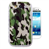 Ivencase Pour Samsung Galaxy S3 I9300 I9305 4g / S3 Neo Coque Camouflage Camo Slim Souple Housse Silicone Gel Protection Case