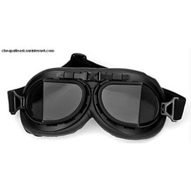 Lunettes � Verre Angulaire - Style R�tro Vintage Moto / Scooter / Harley / Vespa - Cosplay Steampunk Anime Manga Western Aviateur / Pilote Bombardier Chasseur