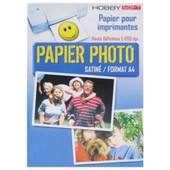 Papier photo Satine A4 160g - 45 feuilles