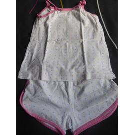 Pyjama Zara . Coton 4 Ans Blanc