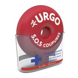 Urgo S.O.S Coupures - Bande Stop Saignement - 3 M X 2,5 Cm