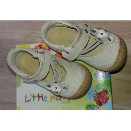 Ballerines Printemps-�t� B�b� Fille Taille 21 Little Mary 12 Mois Blanc