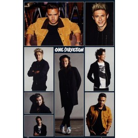 One Direction Maxi Poster 1D grille 61x91,5 cm