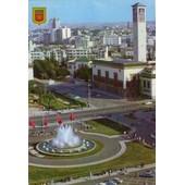 C.Postale : Maroc - Casablanca - Place Des Nations Unies (1973)